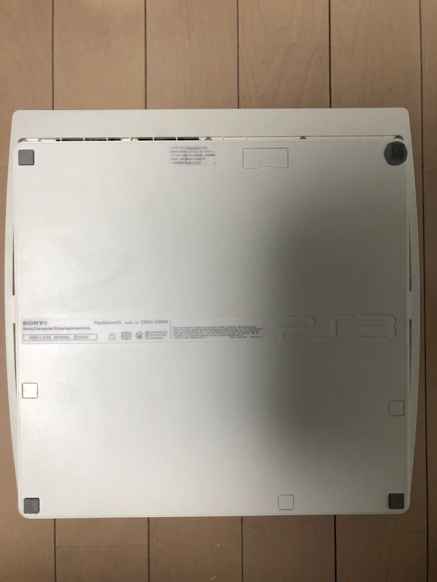 PlayStation3(CECH-2500A 160GB) + ソフト10本セット
