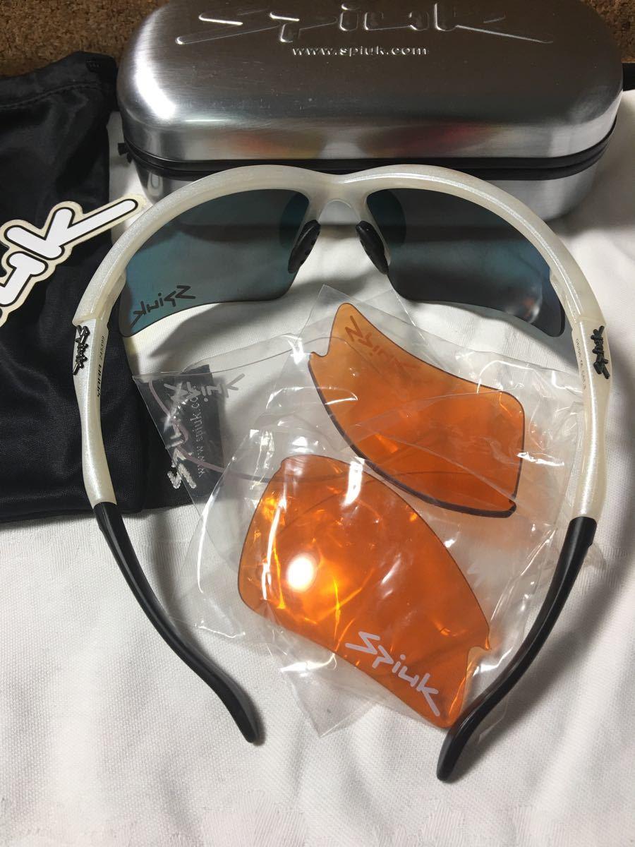 Spiuk(エスピューク)サングラス 【YARA】替えレンズ2セット付き サイクリング用サングラス スポーツサングラス