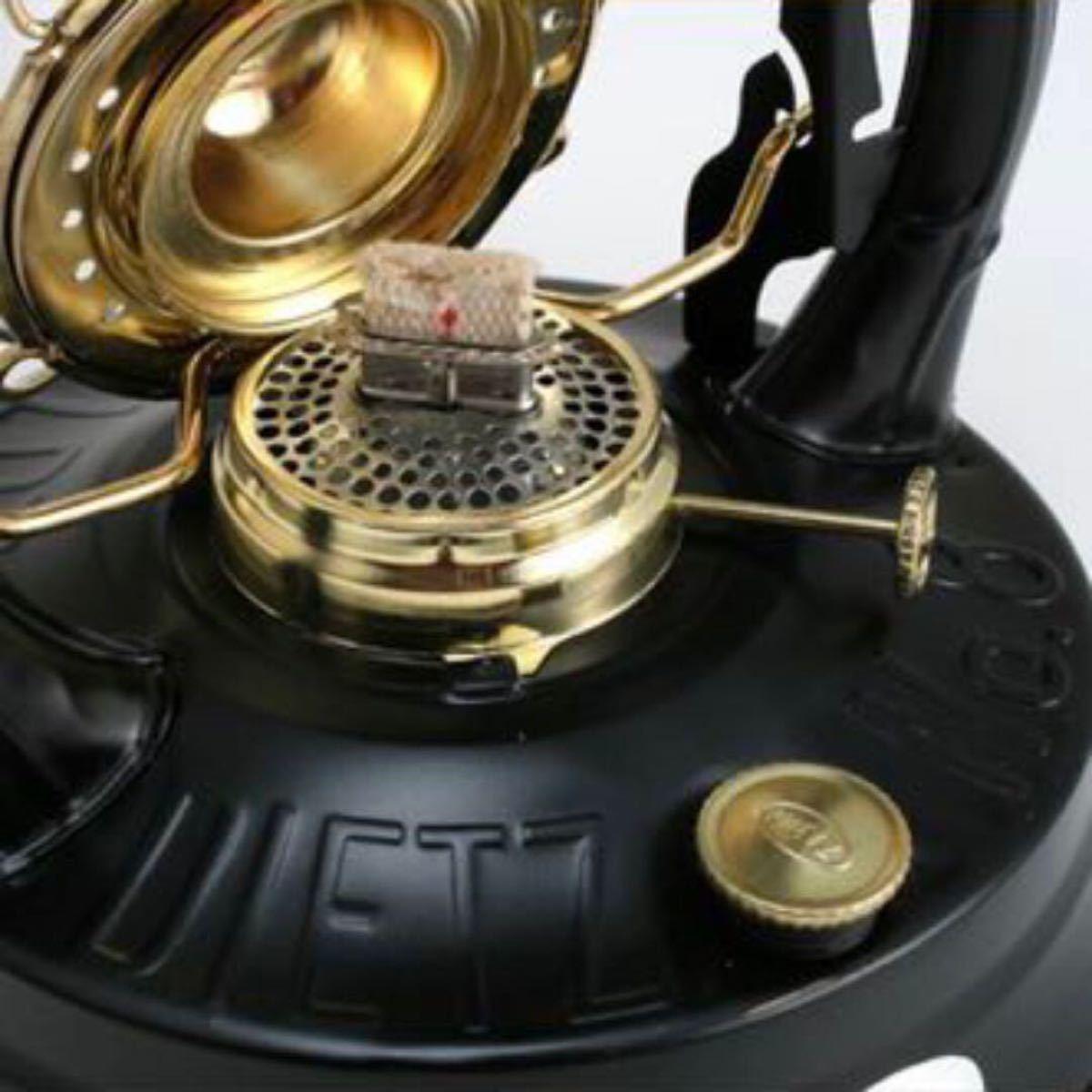 【新品未使用・24時間以内発送】ハリケーンオイルランタン デイツA8 DIETZ 黒 金BEL050-BK-G