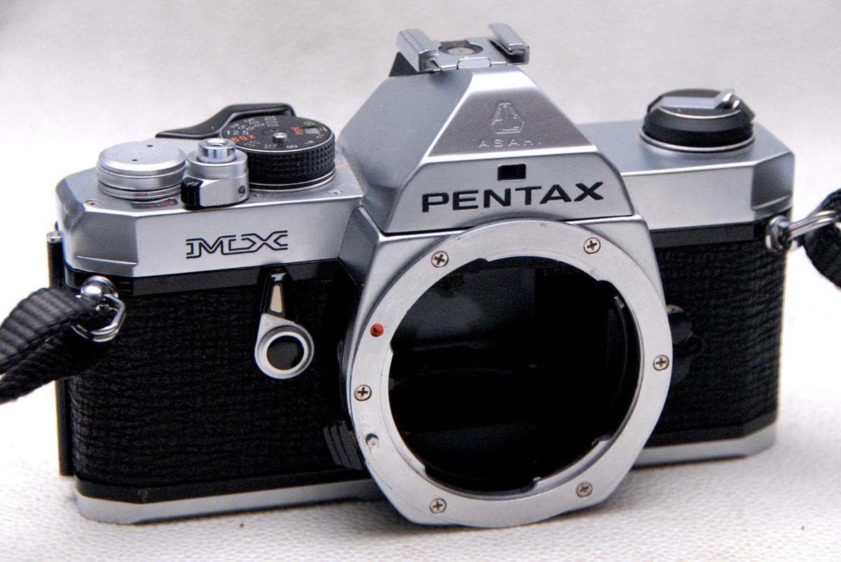 PENTAX ペンタックス 人気の高級一眼レフカメラ MX ボディ 良好品 (腐食無し)