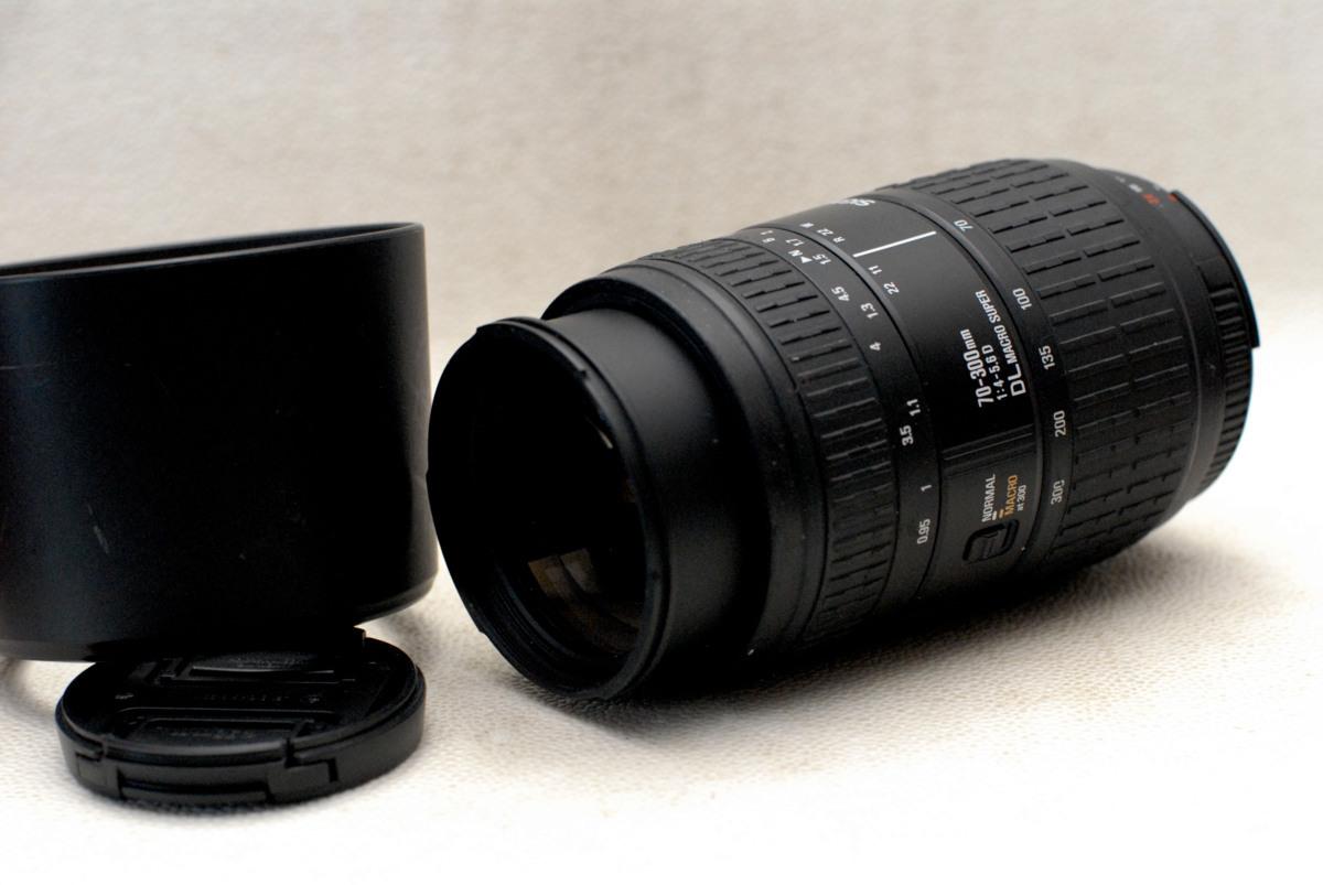 Nikon ニコン 専用 70-300mm オートフォーカス高級望遠ズームレンズ (DL MACRO) 1:4-5.6 作動品