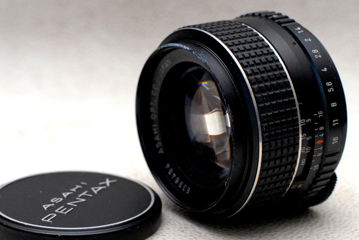 PENTAX ペンタックス純正 M42マウント専用 50mm 高級単焦点レンズ 1:1.4 作動品
