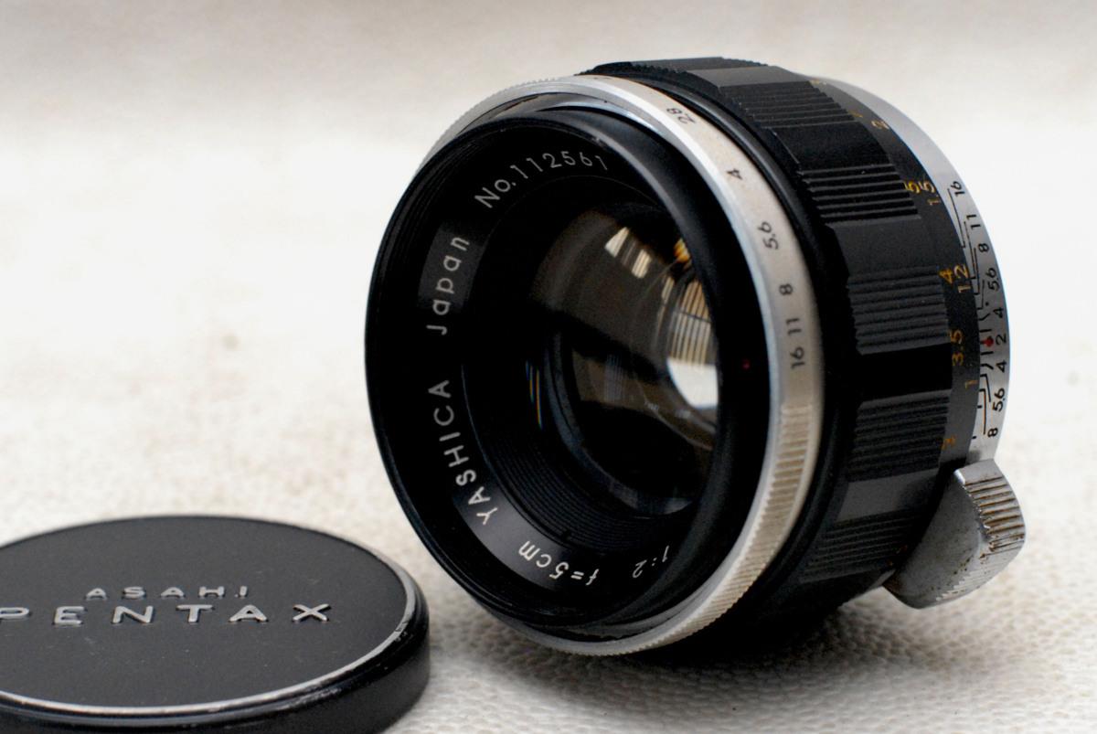 ペンタックス M42マウント専用 YASHICA ヤシカ製 5cm 高級単焦点レンズ 1:2 超希少品