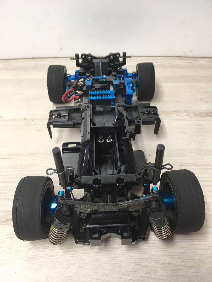 タミヤ M-05PRO改シャーシ、ホンダ無限CR-X PRO、スズキスイフトボディー、GT-TUNEモーター他オプション多数付き