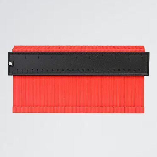 新品 好評 幅広タイプ(13cm幅) 型取りゲ-ジ M-S3 不規則な測定器 ABSプラスチック製 「フルフィルメント by 」測定ゲ-ジ 測定工具_画像1