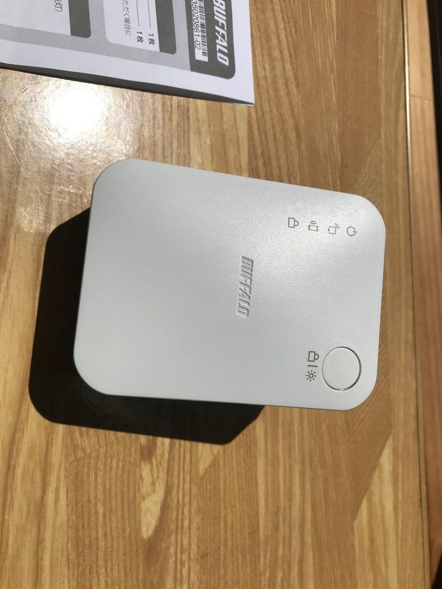 無線LAN中継機 WEX-733DHP バッファロー