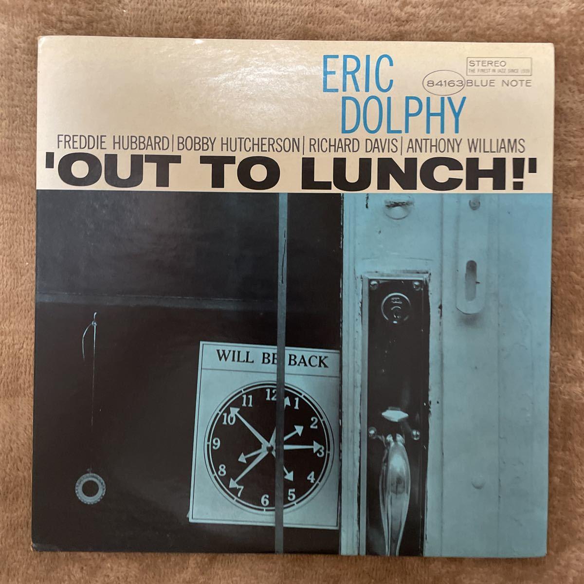 レコード jazz OUT TO LUNCH! ERIC DOLPHY エリック・ドルフィー BLUE NOTE_画像1
