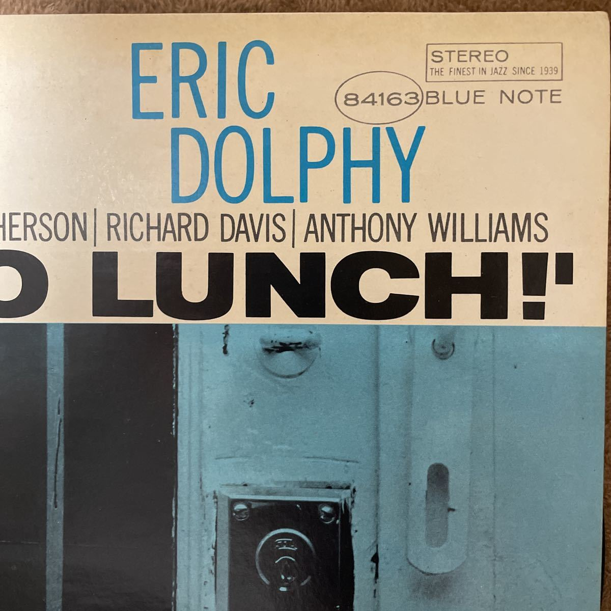 レコード jazz OUT TO LUNCH! ERIC DOLPHY エリック・ドルフィー BLUE NOTE_画像2