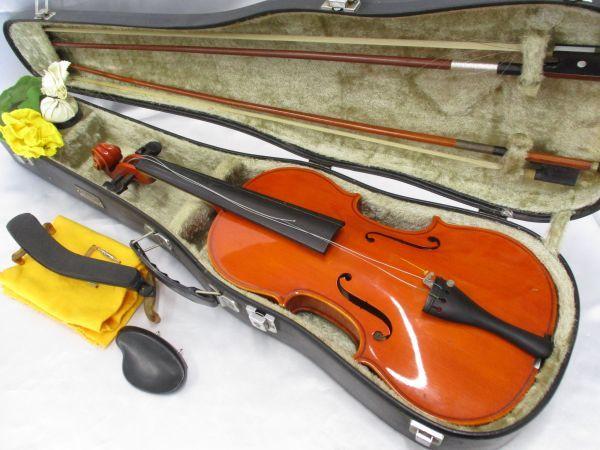 ik0508★Antonius Stradivarius/アントーニウス ストラディバリウス バイオリン 弦楽器 ST-01 Tokyo Anno 1988