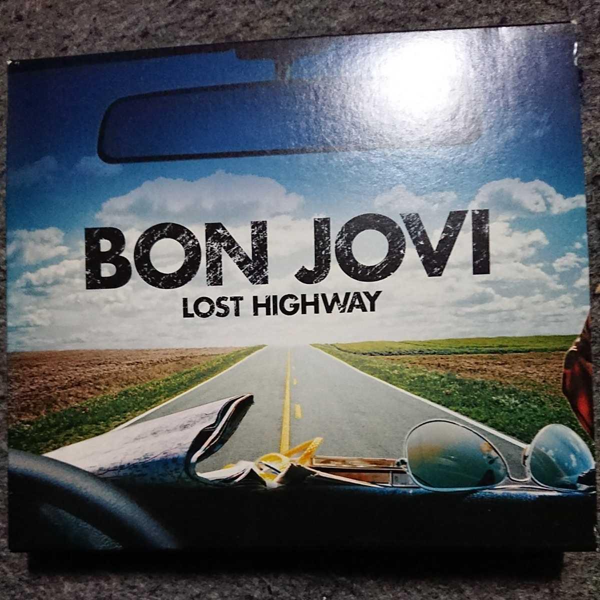 BON JOVI/LOST HIGHWAY 国内盤 初回限定盤CD+DVD 2枚組 表紙(歌詞カード)欠品 ボン・ジョヴィ ロストハイウェイ