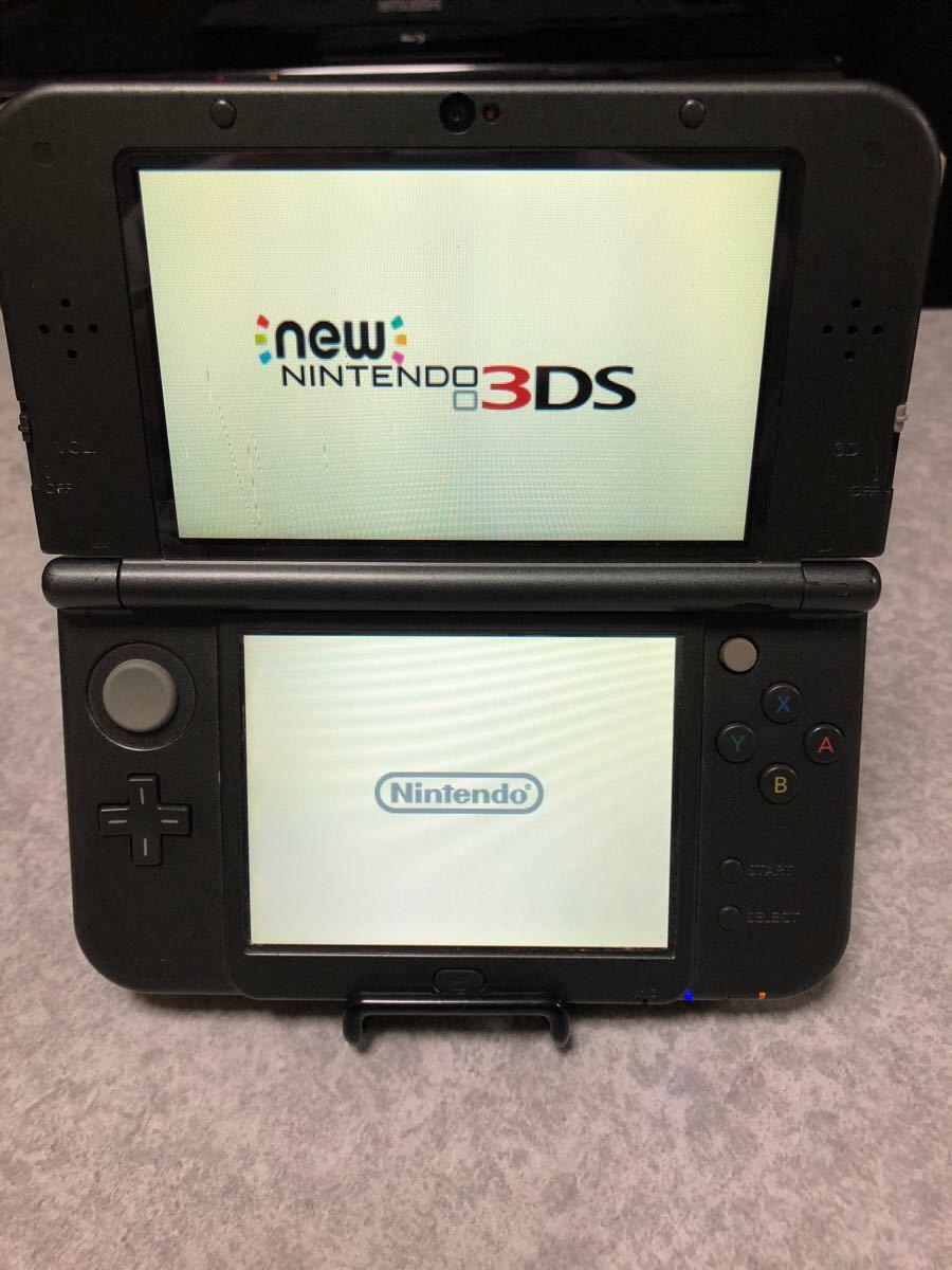 Newニンテンドー3DS LL メタリックブラック DS LL DSTT ソフト セット