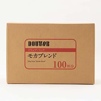 【☆特価品☆】 : ドトールコーヒー ドリップパック モカブレンド 100P_画像2