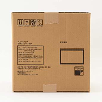 【☆特価品☆】 : ドトールコーヒー ドリップパック モカブレンド 100P_画像4