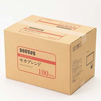 【☆特価品☆】 : ドトールコーヒー ドリップパック モカブレンド 100P_画像7