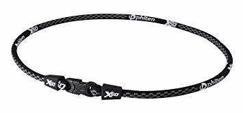 【☆特価品☆】 : ブラック 65cm ファイテン(phiten) ネックレス RAKUWAネックX50_画像1