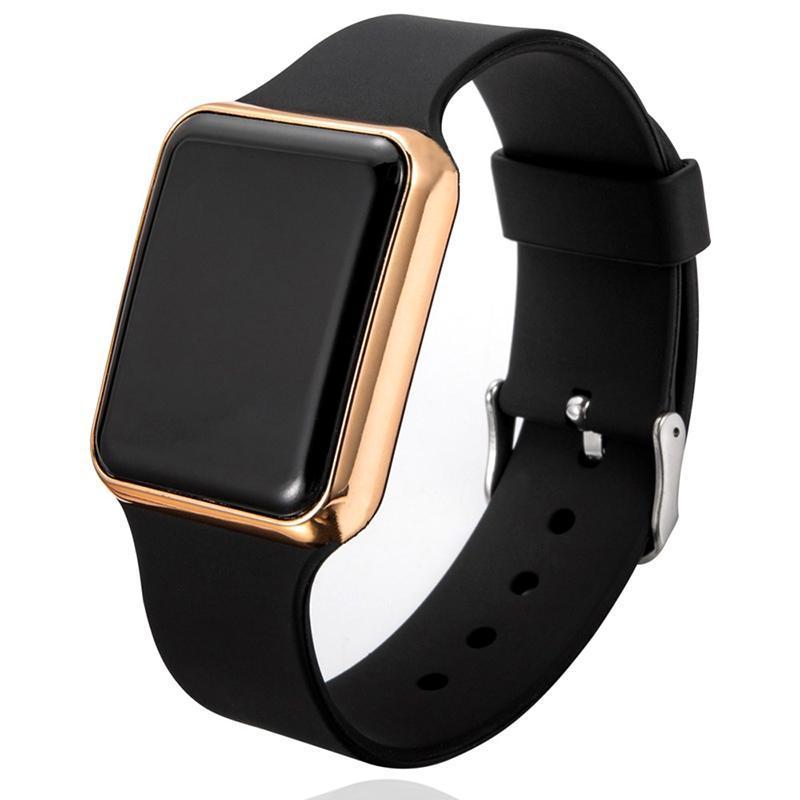 大人気!スポーツカジュアルメンズ腕時計高級デジタル男女性の腕時計led電子男性腕時計時計レロジオmasculino_画像1