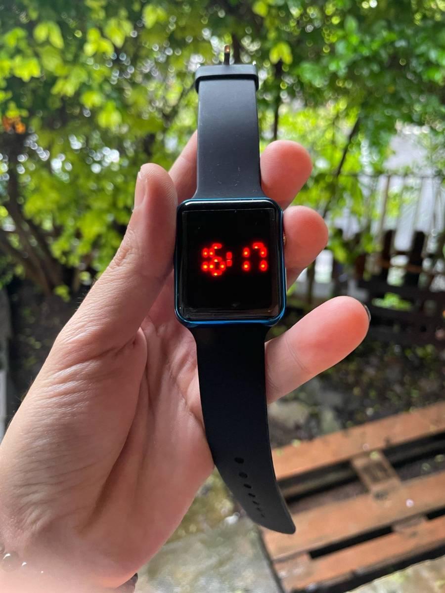 大人気!スポーツカジュアルメンズ腕時計高級デジタル男女性の腕時計led電子男性腕時計時計レロジオmasculino_画像2