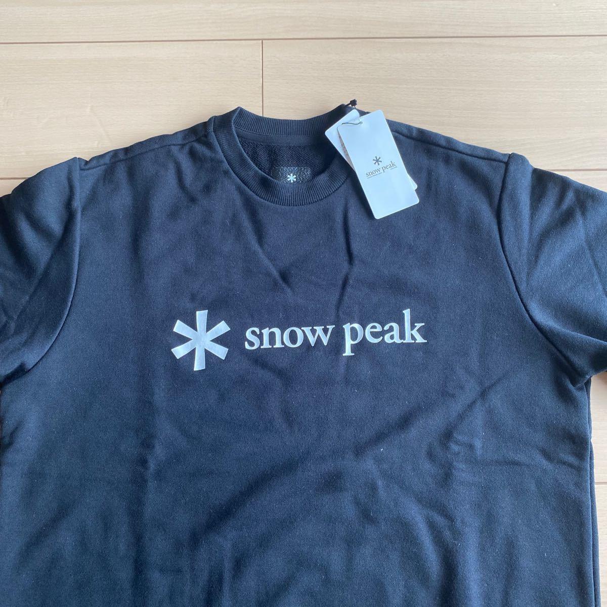スノーピークストア限定品 snow peak store スウェット  Mサイズ  ブラック