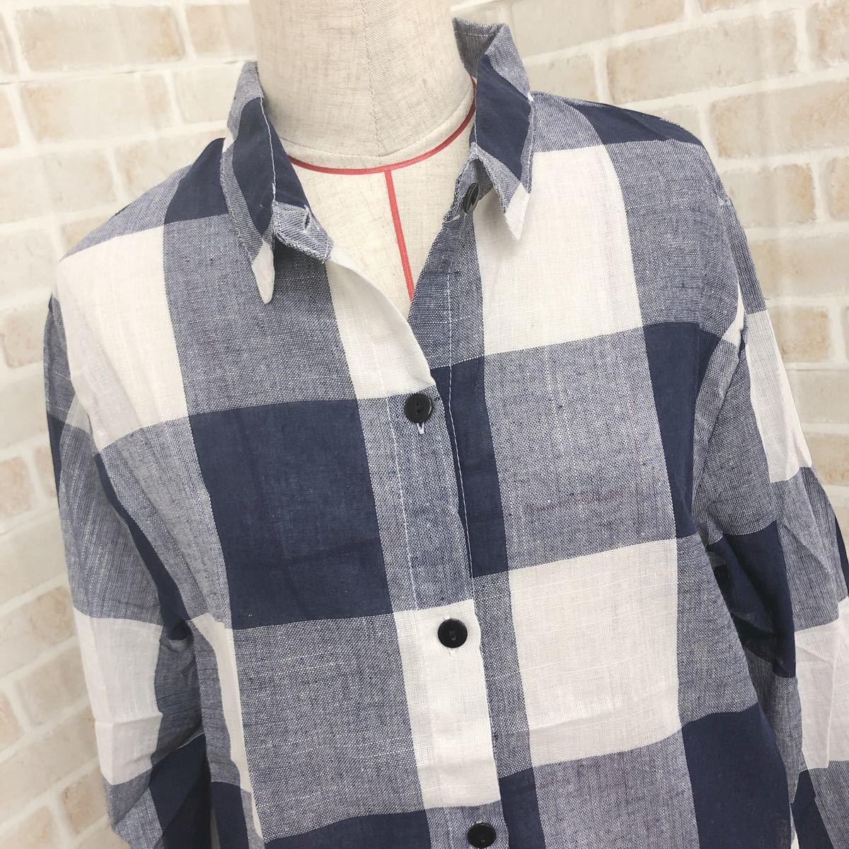 チェック柄 チェックシャツ 夏物 ギンガムチェック 韓国ファッション オルチャン