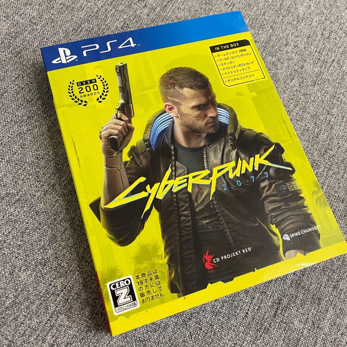 PS4ソフト PS4 サイバーパンク サイバーパンク2077