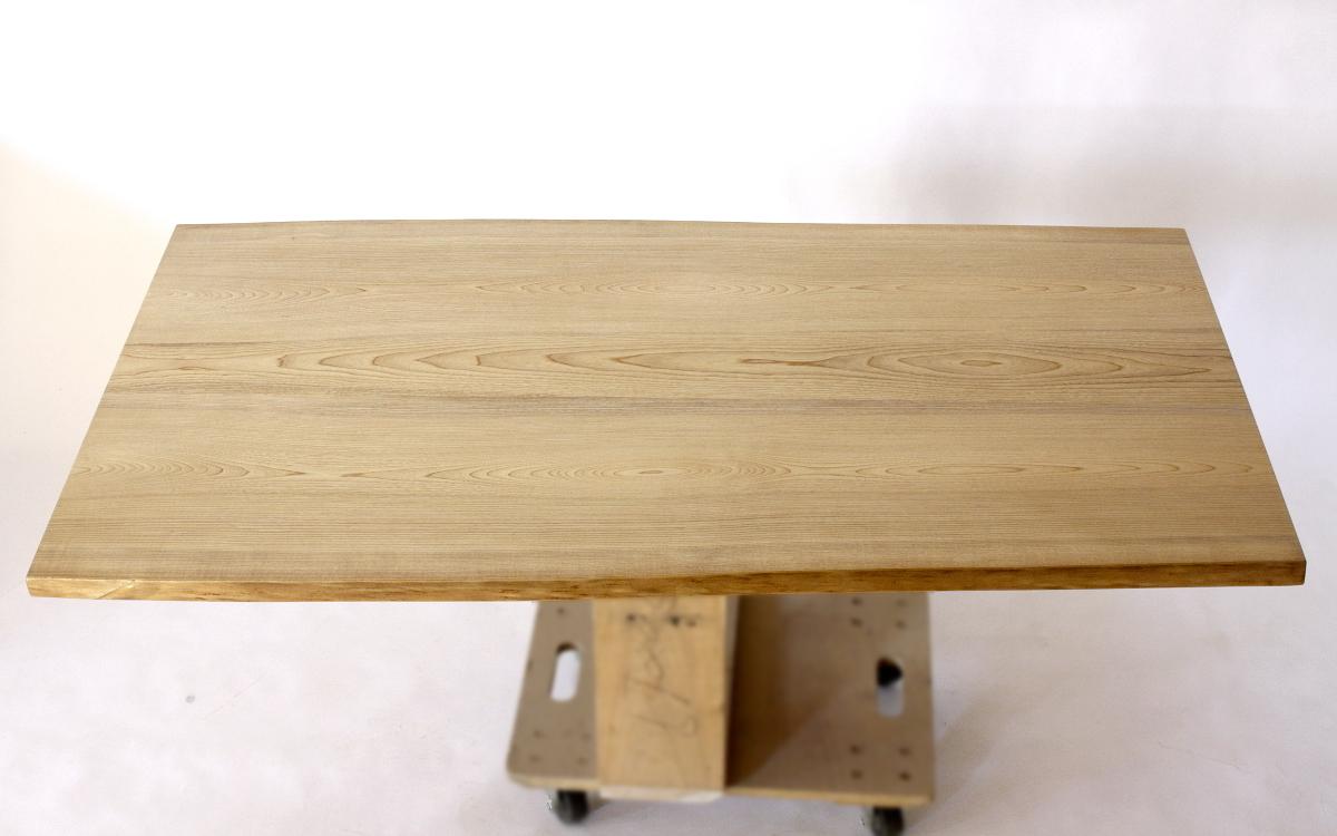 150×約80cmの国産無垢材テーブル(植物系オイル仕上)【岩泉純木家具公式ストア】_画像2