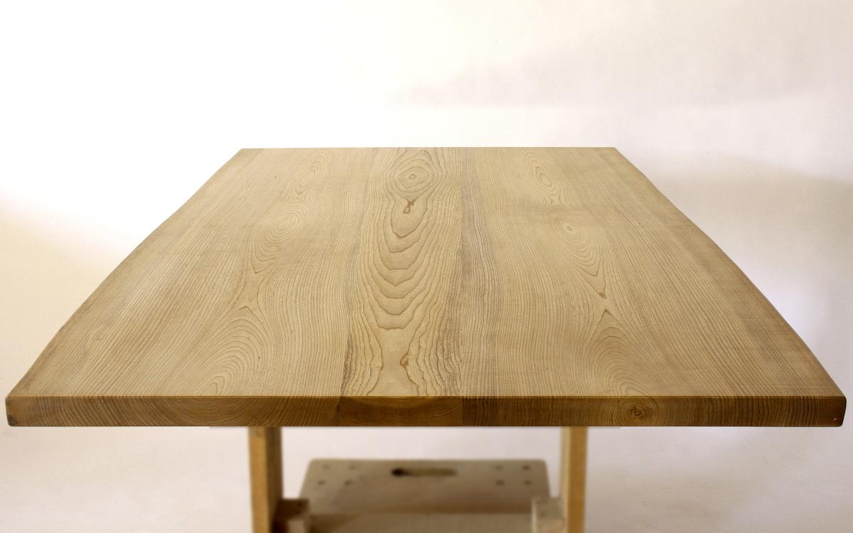 150×約80cmの国産無垢材テーブル(植物系オイル仕上)【岩泉純木家具公式ストア】_画像4