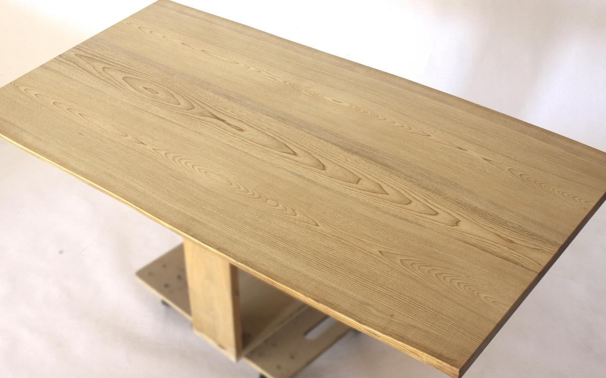150×約80cmの国産無垢材テーブル(植物系オイル仕上)【岩泉純木家具公式ストア】_画像3