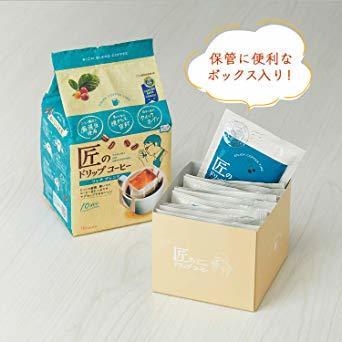 10袋 ×3袋 片岡物産 匠のドリップコーヒー リッチブレンド 10袋 ×3袋 レギュラー(ドリップ)_画像5
