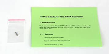 玄人志向 STANDARDシリーズ mSATA → SATA変換基板 KRHK-MSATA/S_画像3