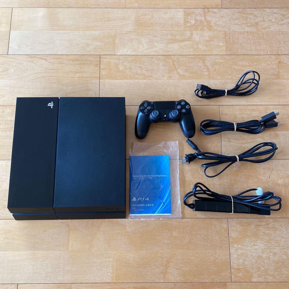 PlayStation4 500GB ジェット・ブラック PlayStation Camera同梱版 CUH-1000AA01