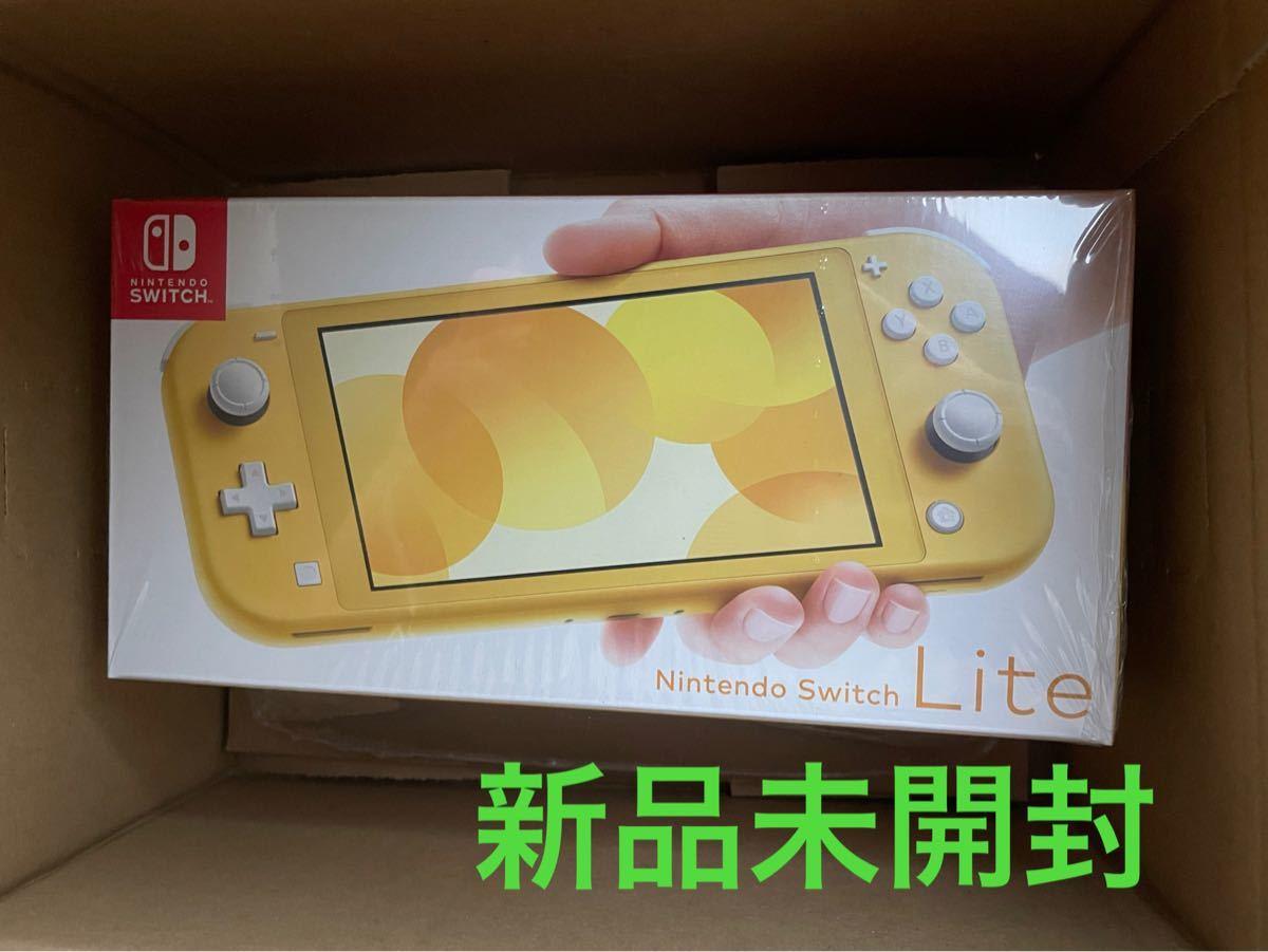 Nintendo Switch Lite本体 スイッチ ライト イエロー  任天堂 店舗印無
