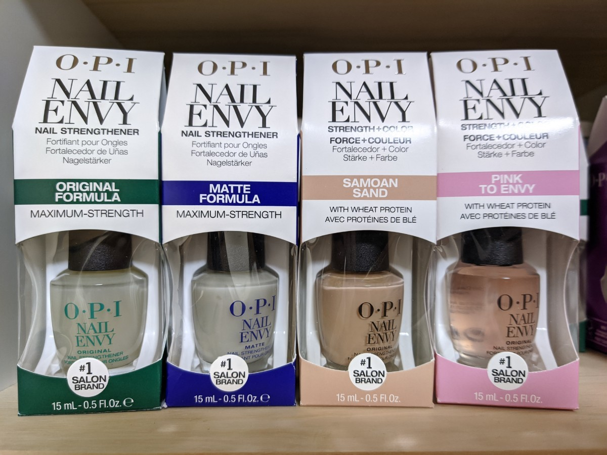 OPI ネイル エンビー 4本 セット オリジナル & マット & サモアン サン & ピンクトゥエンビー Nail Envy