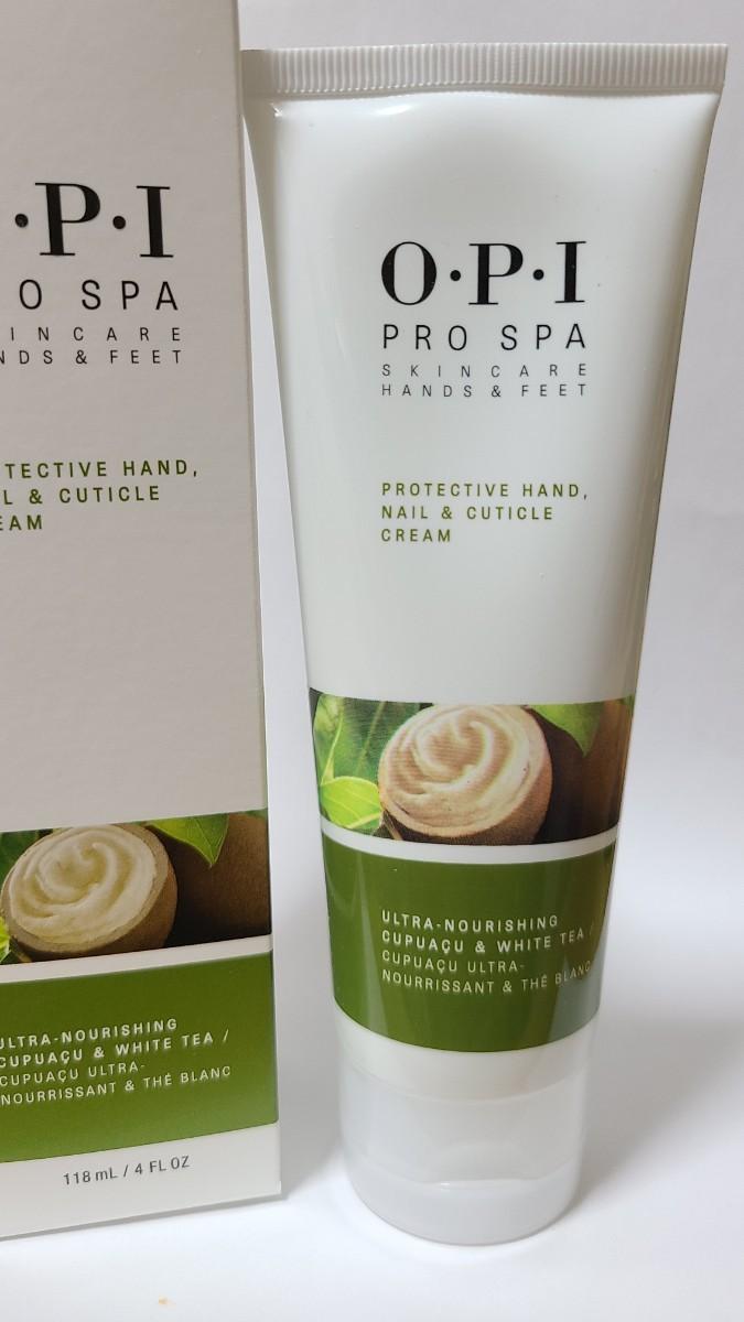 OPI プロ スパ ハンド ネイル & キューティクル クリーム 118 mL Hand Nail & Cuticle Cream