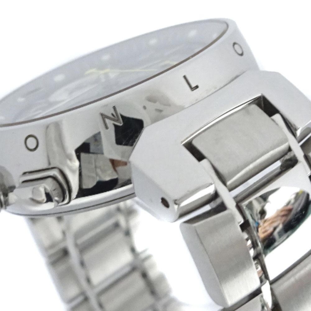 即決 ルイ ヴィトン タンブール ラブリーカップMM ボーイズ 腕時計 レディース クオーツ ブラック文字盤 シルバー Q132G_画像7