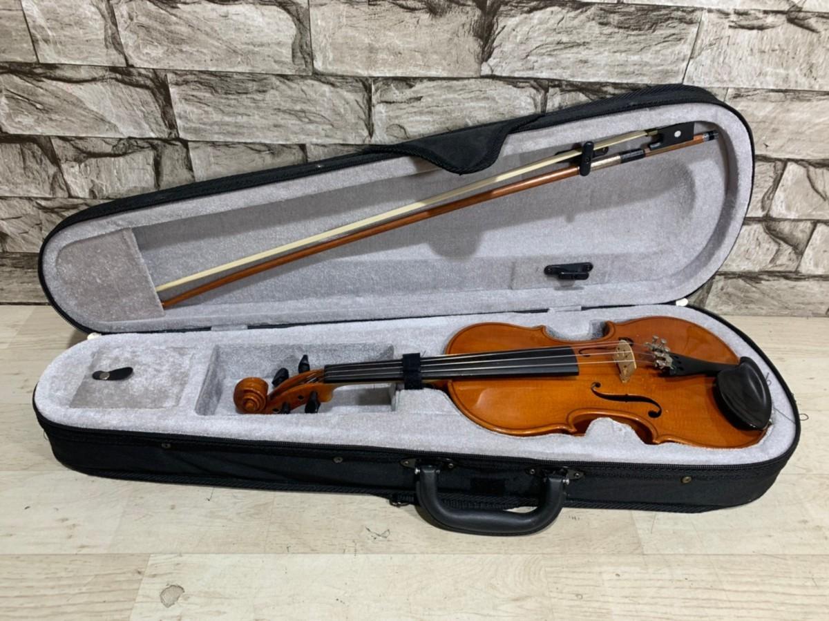 1円スタート SUZUKI スズキ バイオリン No,330 1/4 1991年 SUZUKI NAGOYA 子供用 バイオリン 弦楽器 ケース弓付属 3319
