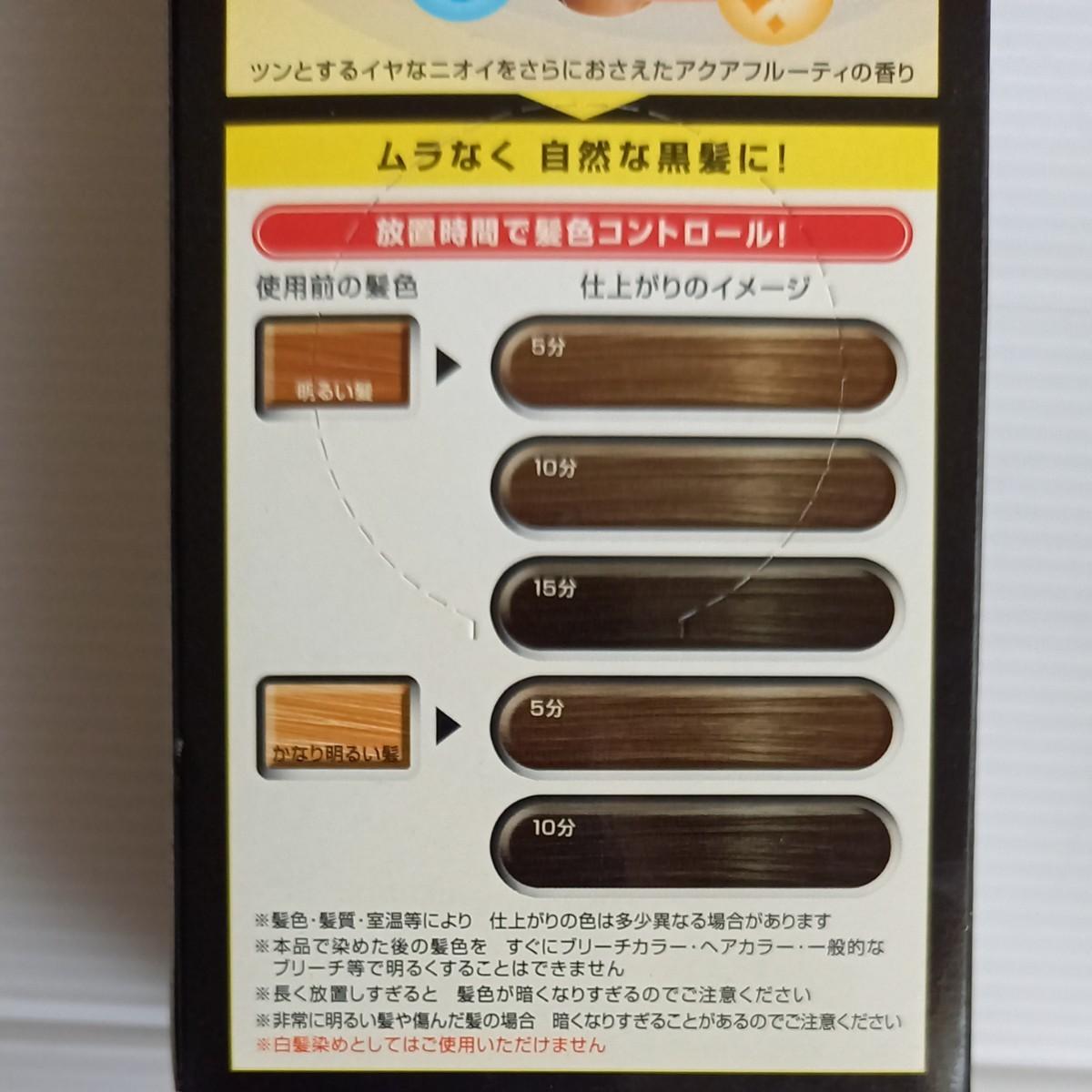 ☆新品未使用☆ GATSBY ギャツビー ヘアカラーリメイク 黒髪もどし ナチュラルブラック 3個セット