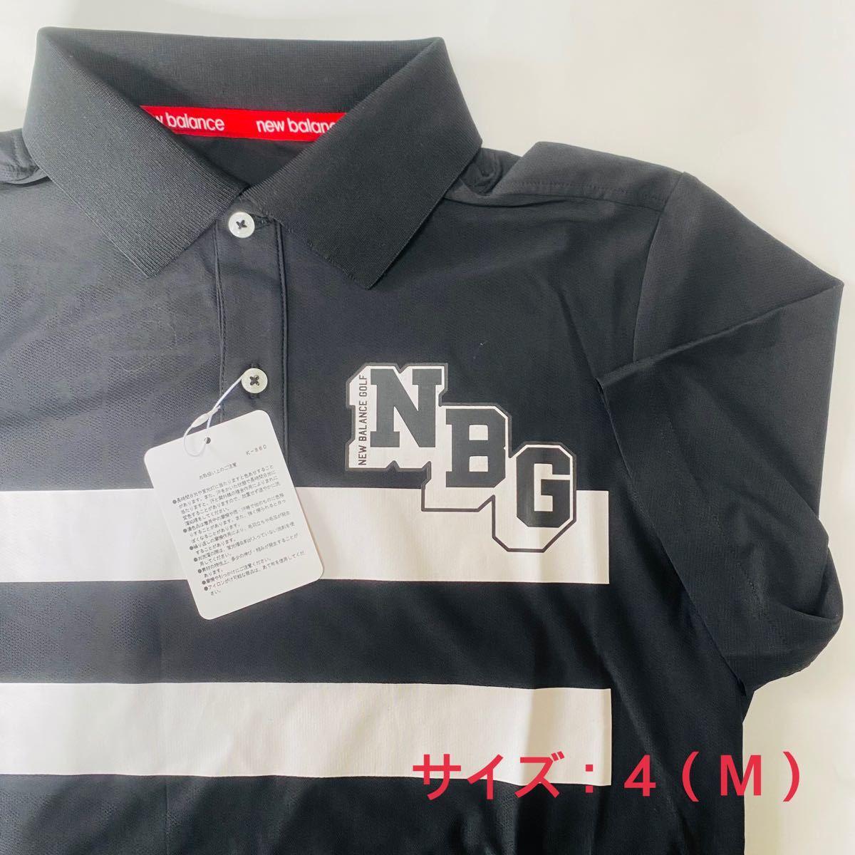 【新品、未使用】ニューバランスゴルフ ポロシャツ メンズ サイズ:4(M)