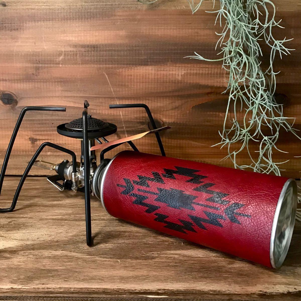 CB缶カバー ワインレッド オルテガ