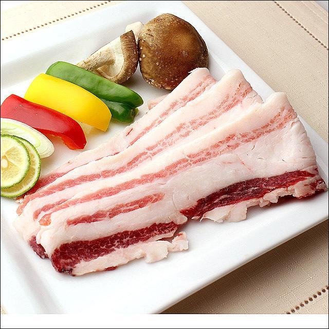 イベリコ豚 バラ カルビ 焼肉用 500g ベジョータ BBQ バラ肉 黒豚 焼き肉 豚肉 バーベキュー お肉 お取り寄せ ギフト対応 高級肉 豚バラ_画像2