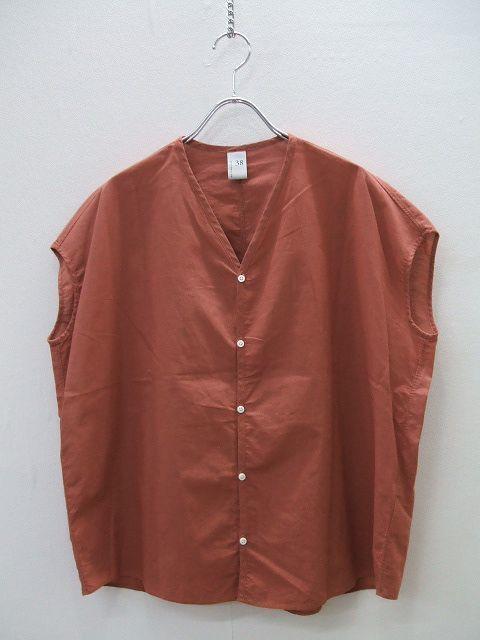 1-0520S♪NO CONTROL AIR/スリーブレスワイドシャツ/フレンチスリーブ/ノーコントロールエアー/定価14500円/ネコポス発送可/ABL174135