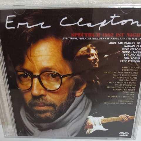 ERIC CLAPTON/Spectrum 1992 1st Night 2枚組 エリック・クラプトン レイ・クーパー ネイザン・イースト