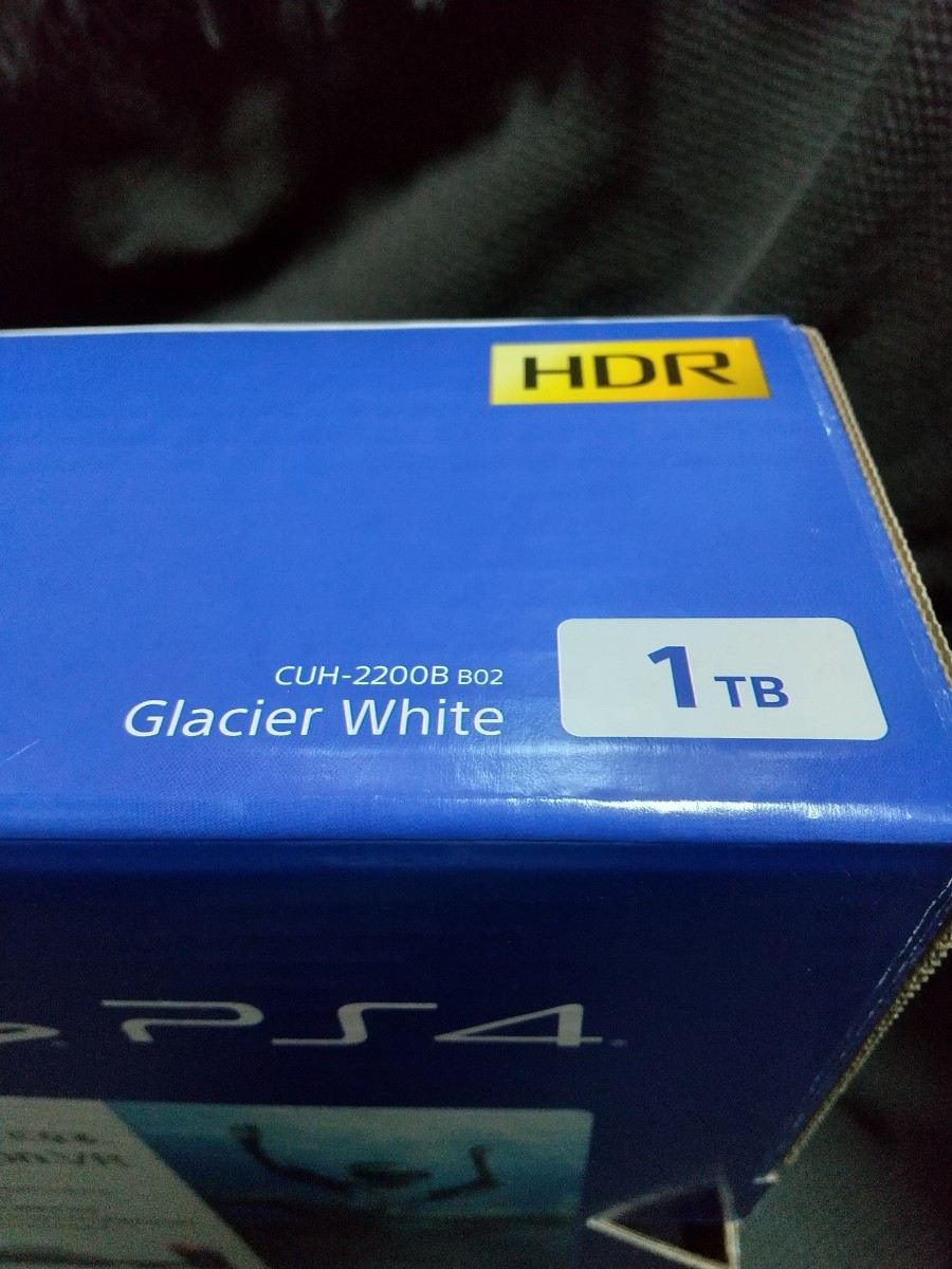 PS4本体  グレイシャーホワイト  CUH-2200BBO2 1TB SONY