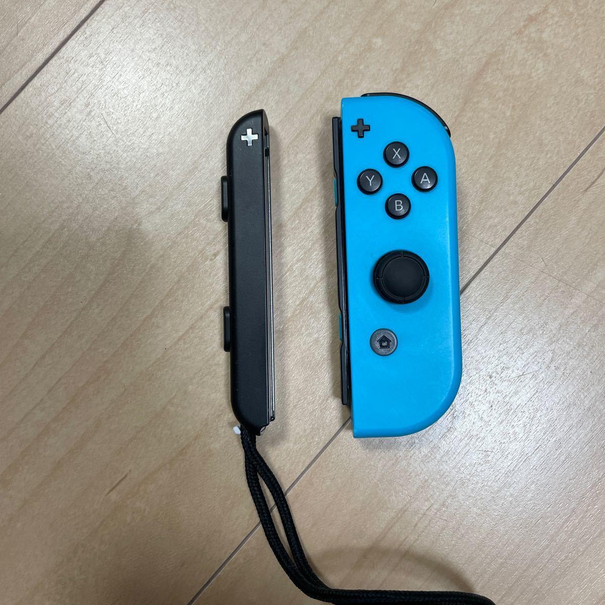 ジョイコン ジャンク ニンテンドースイッチ Nintendo Switch Joy-Con(R) 右 ブルー ストラップ