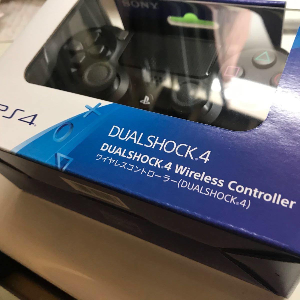 ワイヤレスコントローラー PS4 SONY DUALSHOCK デュアルショック4 ブラック PS4コントローラー