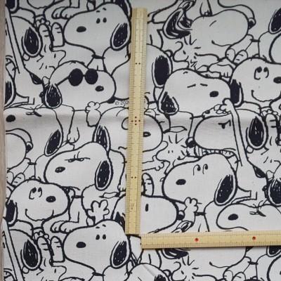 スヌーピー SNOOPY オックス生地 日本製 生地巾約108cm×50cm