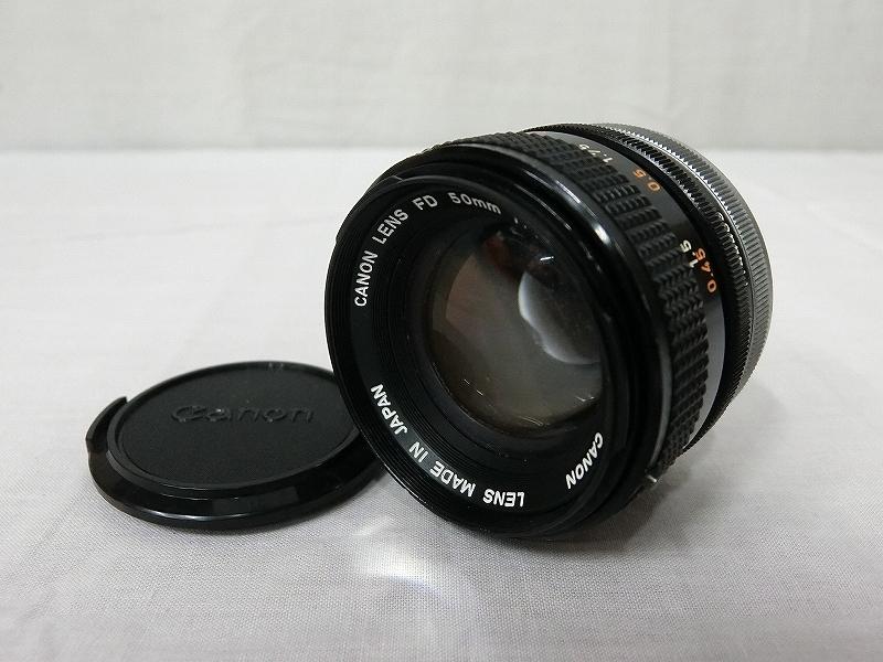 B3662 キヤノン Canon LENS FD 50mm 1:1.4 S.S.C. MF レンズ オールドレンズ