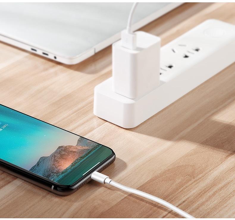 100㎝ iPhone充電ケーブル 純正 ライトニングケーブル 急速充電 USB同期&充電 iPhone対応できる充電ケーブル