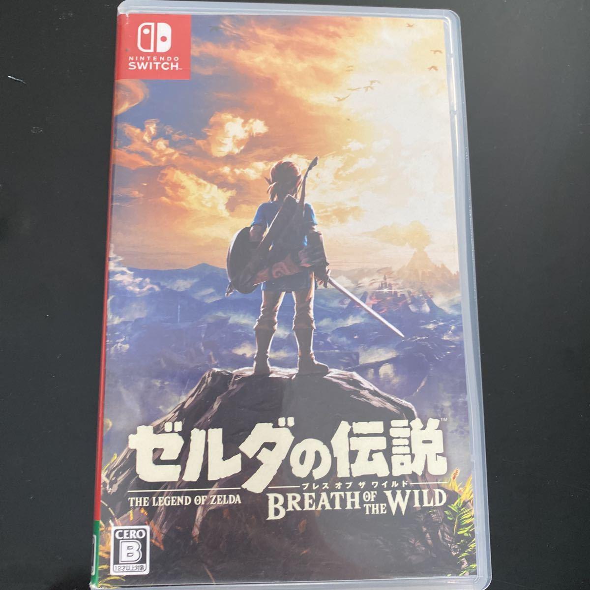ゼルダの伝説ブレスオブザワイルド Nintendo Switch ニンテンドースイッチ Switchソフト ゼルダの伝説 Switch ブレス ザ・ワイルド _画像1