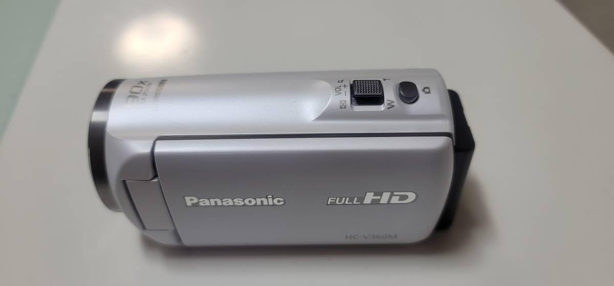 Panasonic製デジタルハイビジョンカメラ HC-V360M