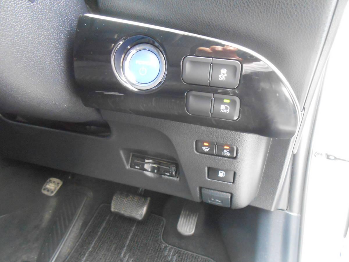 28年式 50系 プリウス S 4WD 163,000キロ SDナビ TV Bカメラ ETC LEDヘッドライト/フォグ Egスターター セーフティセンス 付 車検5年4月_ETC 装備多彩!!